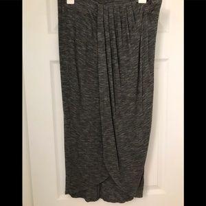 Dolan drape wrap skirt